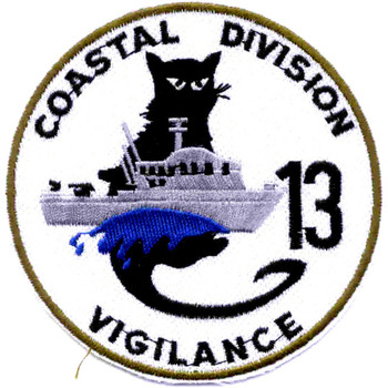 COSDIV-13 Coastal Division Thirteen Patch Vigilance Vietnam