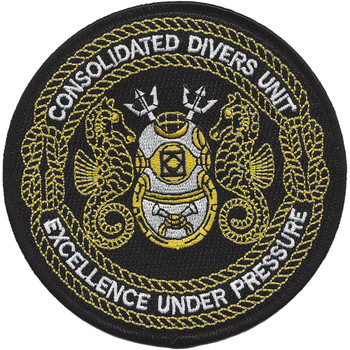 Consolidated Divers Unit Patch