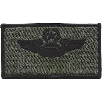 Command Pilot Wings Patch Black And OD