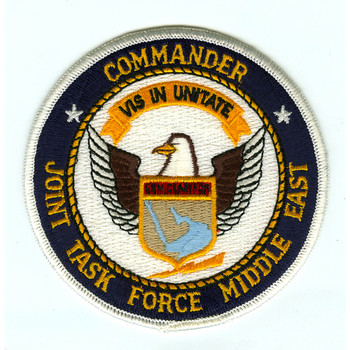 Commander Joint Task Force Middle East Patch