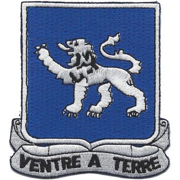68th Armor Tank Regiment Patch