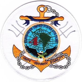 Commander Fourth Fleet Patch