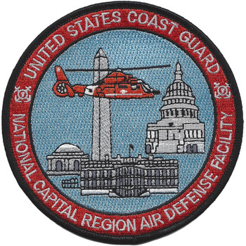 Coast Guard National Capital Region Air Defense Facility Patch