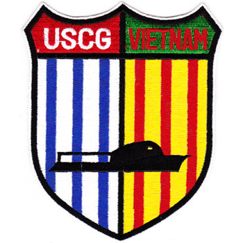 Coast Guard Detachment Vietnam Patch