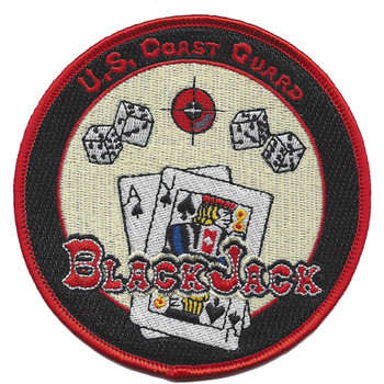 Coast Guard Black Jack Mission DC Defense Patch