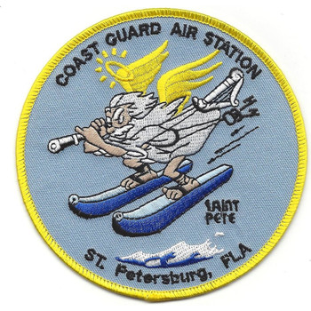 Coast Guard Air Station St. PETERSBURG, Florida Patch