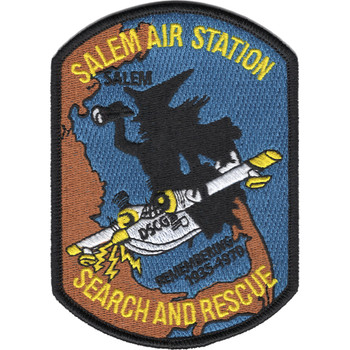 Coast Guard Air Station Salem Patch - Search and Rescue
