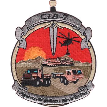 CLB-7 Combat Logistics Battalion Seven Patch