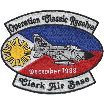 Clark Air Base P.I. Operation Classic Resolve Patch