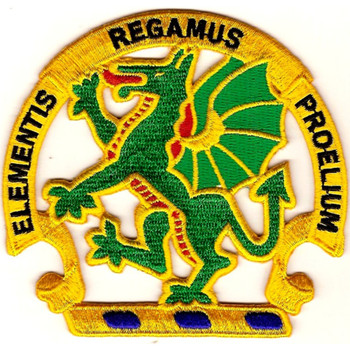 Chemical School Dragon Patch Elementis Regamus Proelium