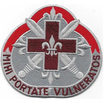 67th Medical Battalion Patch