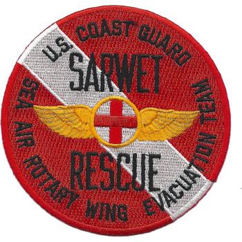 CG SAR Sarwet Sea Air Rotary Wing Evac Team Diver Patch