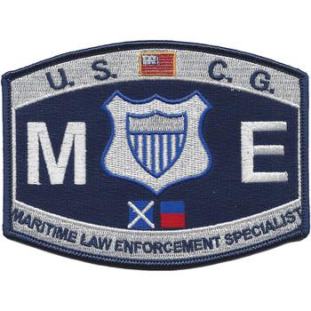CG-Maritime Law Enforcement Specialist Patch
