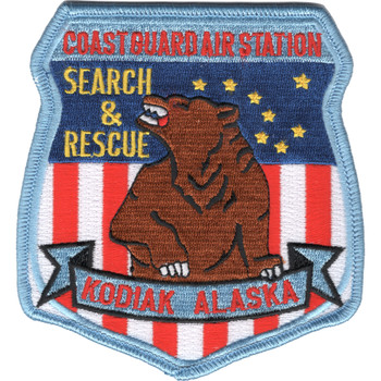 C.G. Air Station Kodiak, Alaska Patch