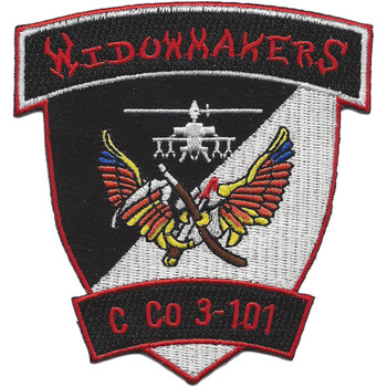 C Co 3rd Battalion 101st Aviation Regiment Patch