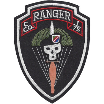 C Co 1/75 1st Battalion 75th Ranger Regiment Patch