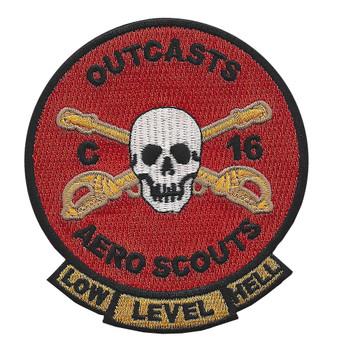 C Co. 16th Cavalry Regiment Aero Scouts Patch