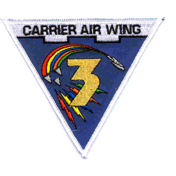 CAW-3 Carrier Air Wing Patch