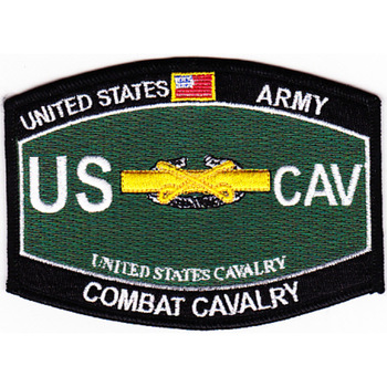 Cavalry Military Occupational Specialty MOS Patch