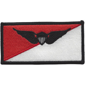 Cavalry Air Pilot Wings Name Tag Patch