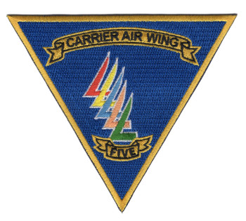 Carrier Air Wing Five CVW-5 Patch