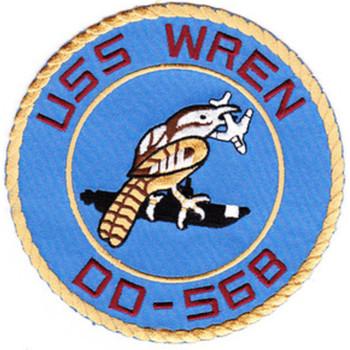 DD-568 A USS Wren Patch