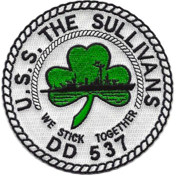 DD-537 USS The Sullivans Patch