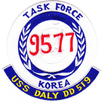 DD-519 USS Daly Task Force Patch