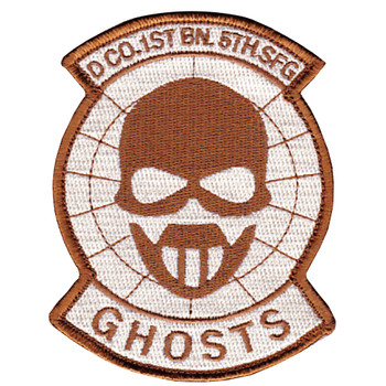 D Co 1st Battalion 5th Special Forces Group Desert Patch Hook And Loop