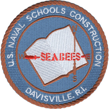 Davisville R.I. Naval Schools Construction Patch