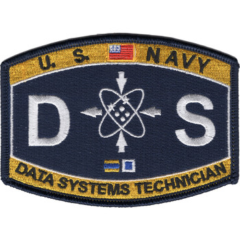 Data Systems Technician Deck Rating DS Patch