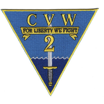Carrier Air Wing 2 Patch - CVW-2