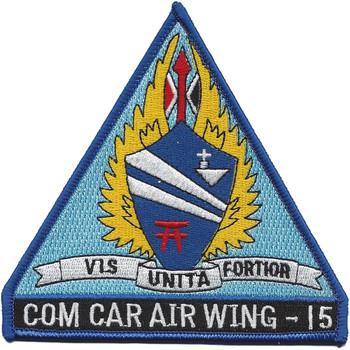 CVW-15 Com Car Air Wing 15 Patch