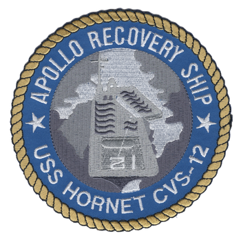 CVS-12 USS Hornet Patch Apollo Recovery