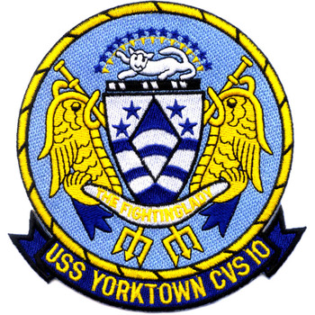 CVS-10 USS Yorktown Patch The Fighting Lady