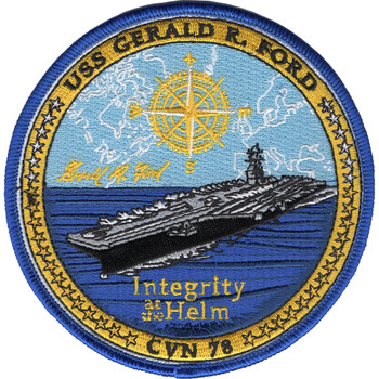 CVN-78 USS Gerald R. Ford Patch