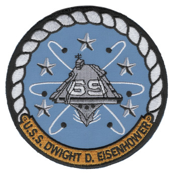 CVN-69 USS Dwight D Eisenhower Patch