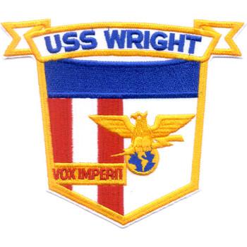 CVL-49 USS Wright Patch