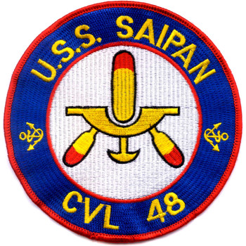 CVL-48 USS Saipan Patch