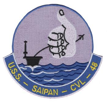 CVL-48 A USS Saipan Patch