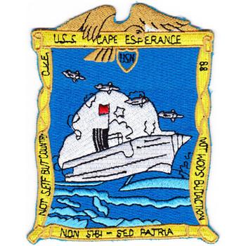 CVE-88 USS Cape Esperance Patch