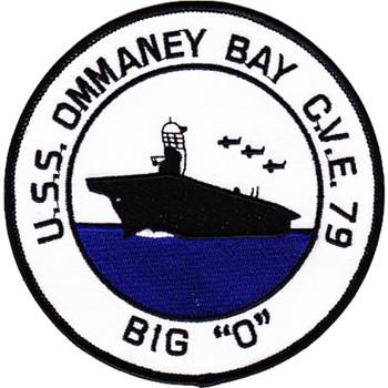 CVE-79 USS Ommaney Bay Patch