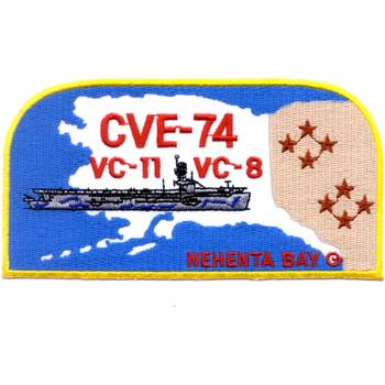 CVE-74 USS Nehenta Bay Patch