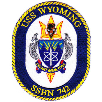 B-SSBN-742A USS Wyoming Patch