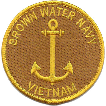 Brown Water Navy Vietnam Patch