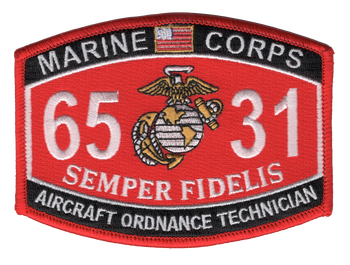 6531 Aircraft Ordnance Technician MOS Patch