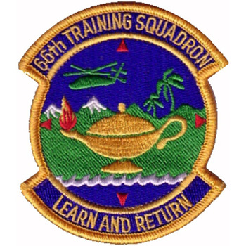 66th Training Squadron S.E.R.E School Patch
