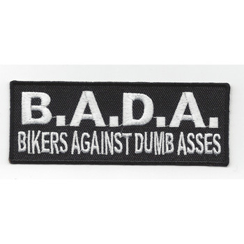 Bikers Against Dumb Asses Patch