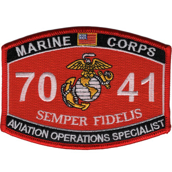 Aviation Operations Specialist 7041 MOS Patch