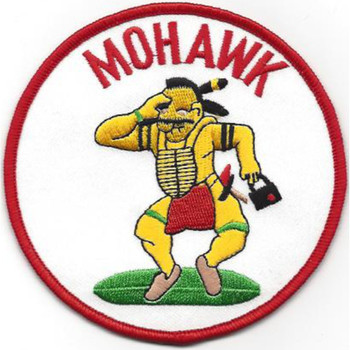 Aviation Military Intelligence Mohawk Patch